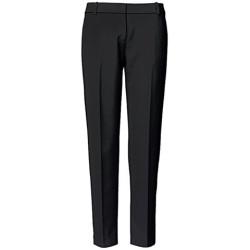 Trouve Slim Ankle Pants Black