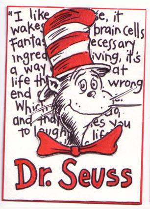 Dr seuss unique writing style